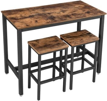 Vasagle Bar Table Set